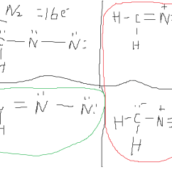 Double Bond Electron Dot Diagram Big Tex Trailer Wire Organic Chemistry Lewis Structure Of Diazomethane