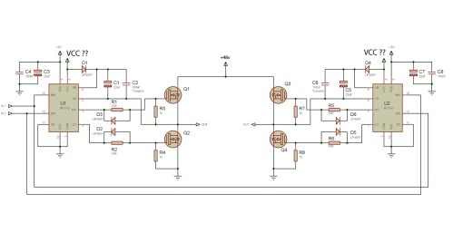 small resolution of choose vcc for mosfet driving a 48v motor