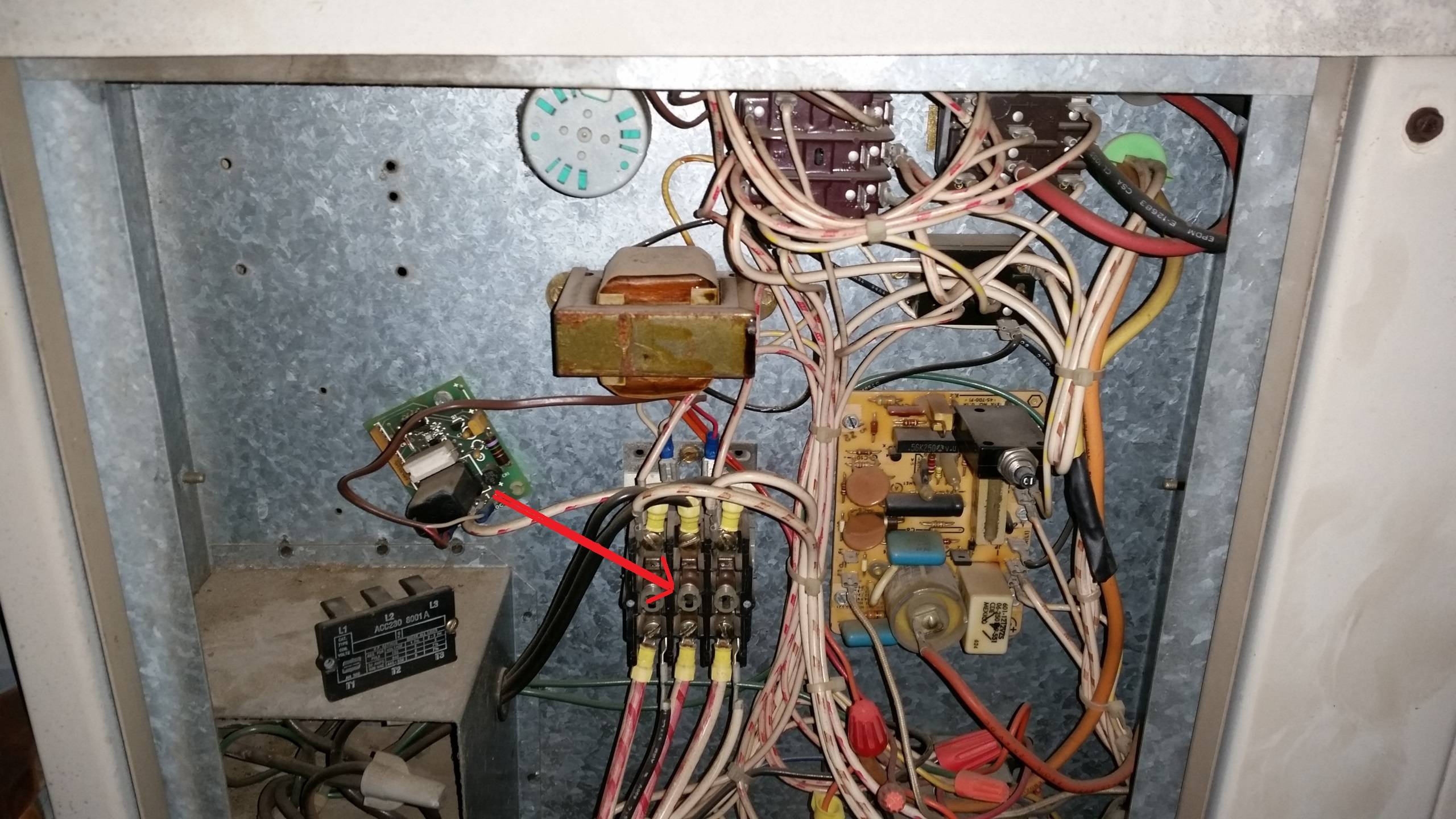 Hard Start Capacitor Wiring Diagram Hvac Temporary Fix For Bad Contactor Home Improvement