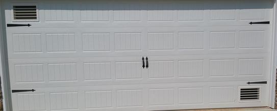 hot garage do garage door vents work