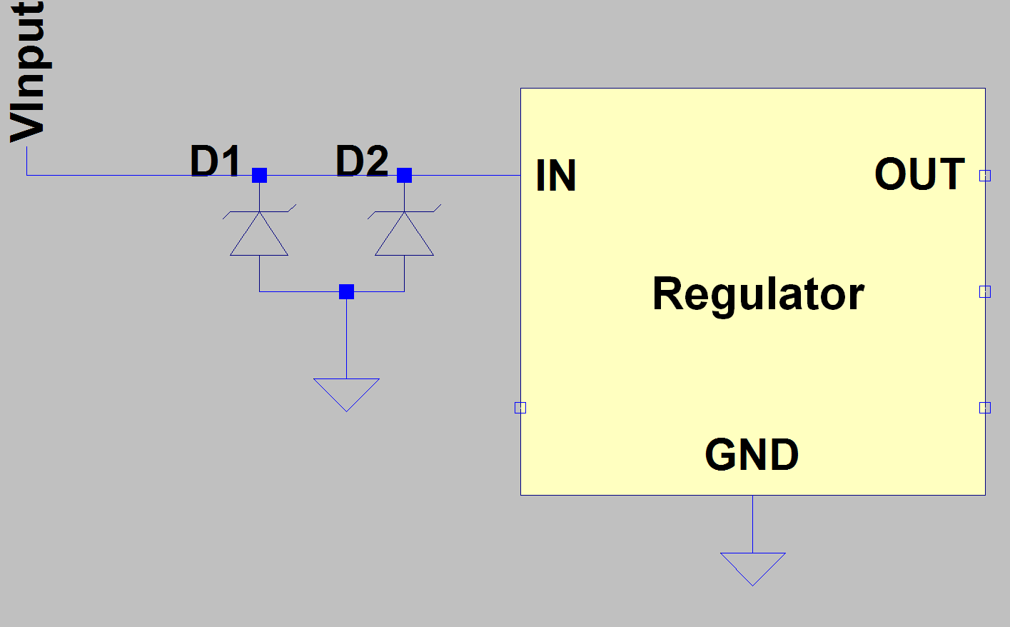 hight resolution of simplified circuit