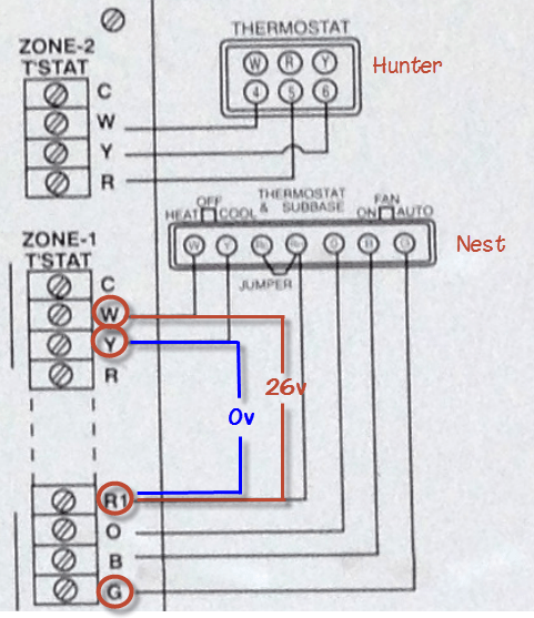 Wiring Why Is My Nest Thermostat Not Working With A C? Home
