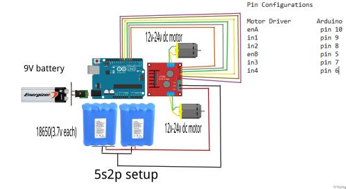 small resolution of here is the circuit diagram l298 motor driver circuit wiring arduino and motor driver l298n separate
