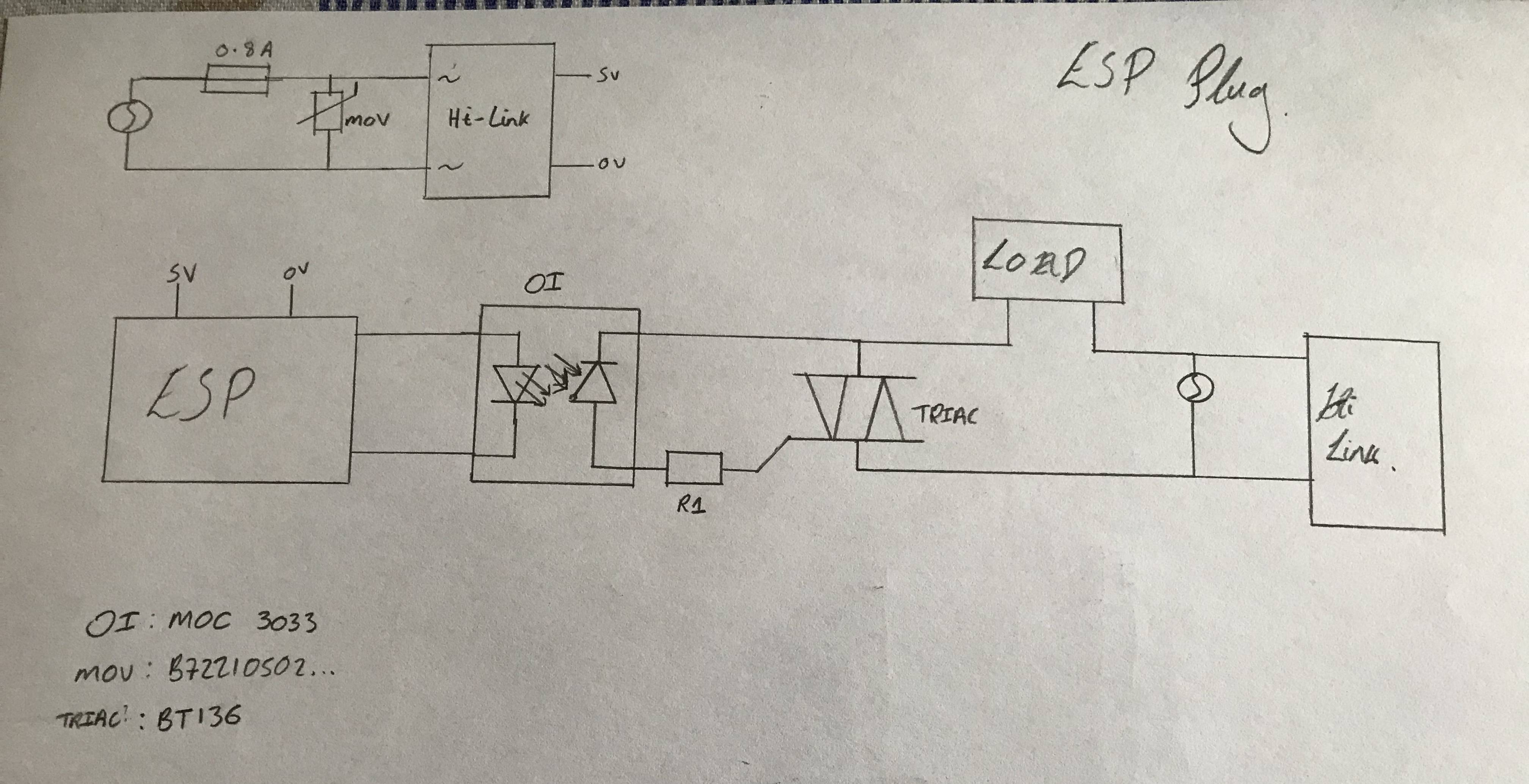 Triac Switching Circuit