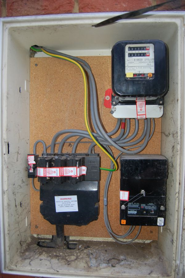 Fuse Box Electricity
