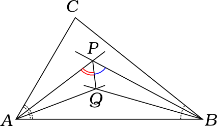 A cute geometry problem about angle trisectors