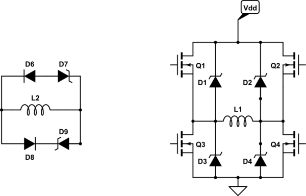 Correct Placement Of Freewheel Diode Electrical
