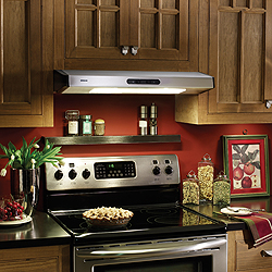 kitchen hood vents cheap cabinets for sale stove can i move the range but not roof vent angled enter image description here