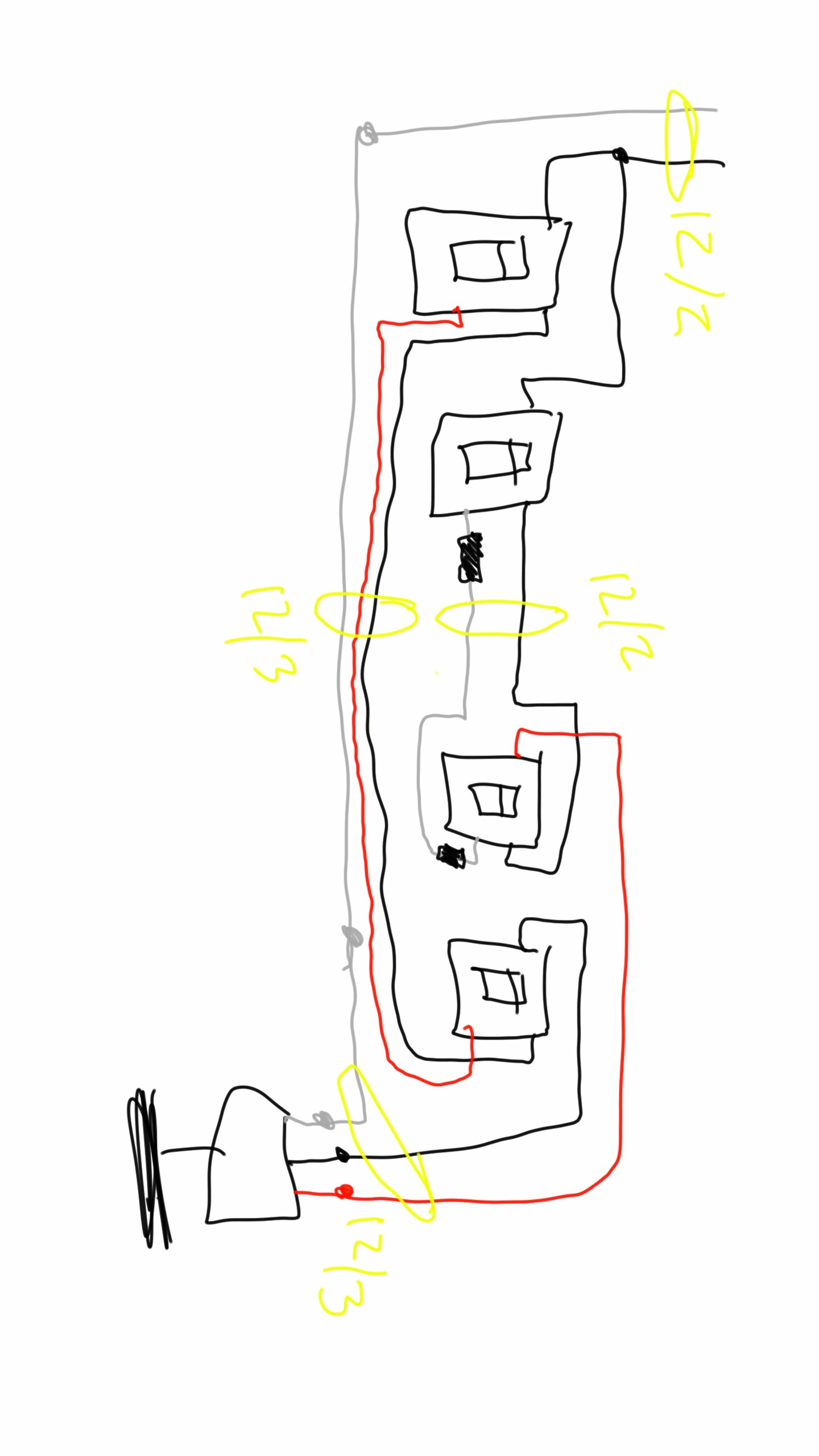 Wiring Ceiling Fan With Two Switches : wiring, ceiling, switches, Needed, Double, 3-way, Switch, Fan/light, Improvement, Stack, Exchange