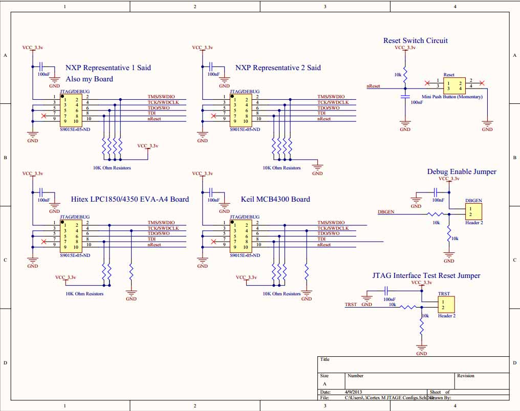 hight resolution of microcontroller consensus on proper wiring for cortex m 10 pin jtag wiring diagram