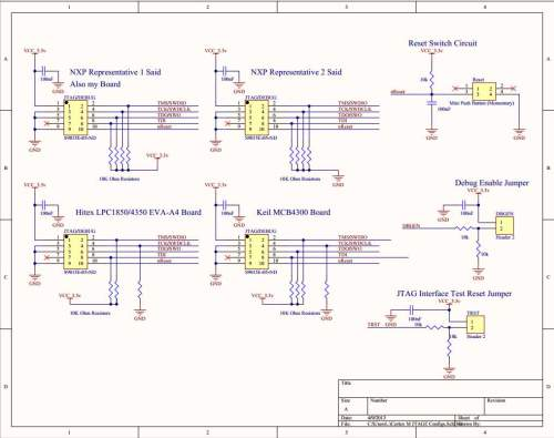 small resolution of microcontroller consensus on proper wiring for cortex m 10 pin jtag wiring diagram