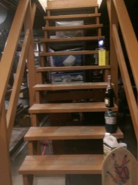 What is required to enclose and finish my basement stairs ...