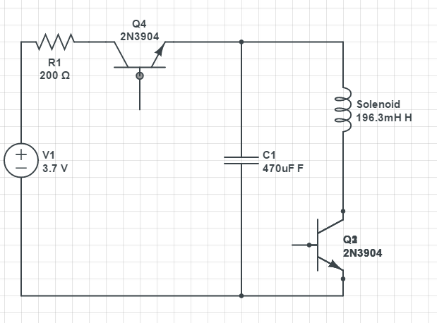 How to power small solenoid with a 3.7V lithium battery