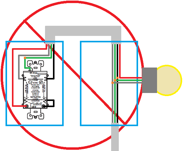 how do i wire a gfci combination light switch when power