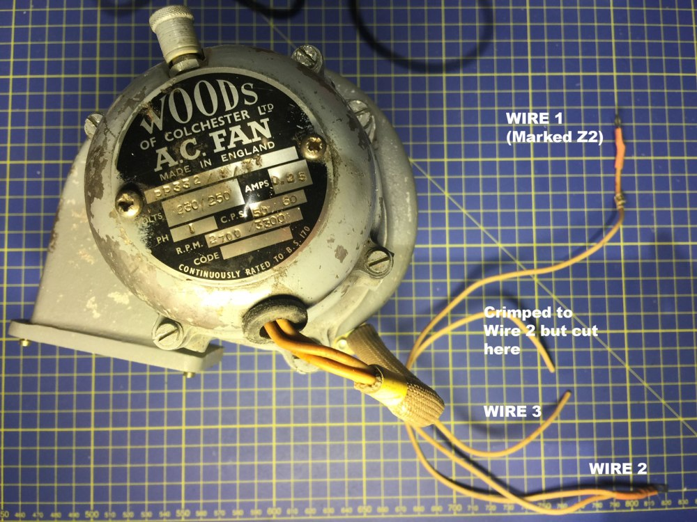 medium resolution of motor ac fan wiring without knowing connection electrical air conditioner fan motor wiring diagram ac fan wiring