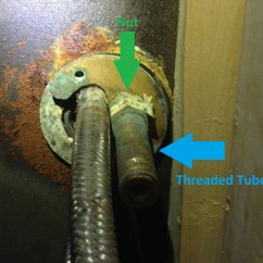How To Repair Kitchen Faucet Modern Island Lighting Plumbing Replacing Unsure Remove Old Plate Enter Image Description Here