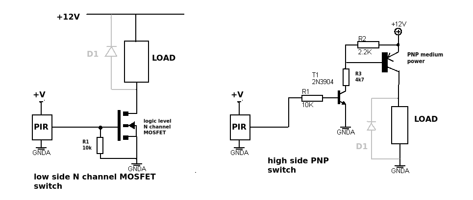 Switches Pnp To Npn Transistor Switch Electrical