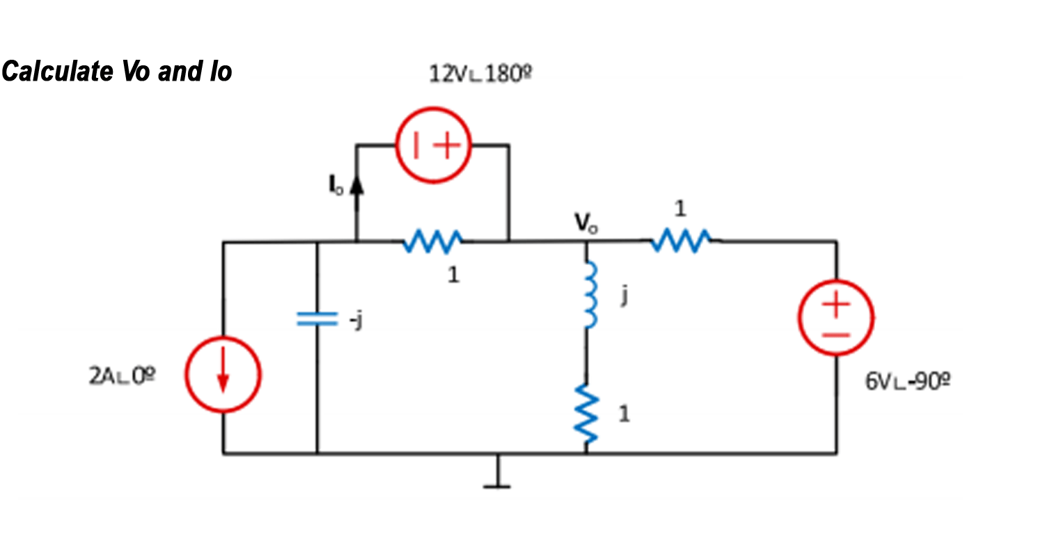 Calculating Current And Voltage Using Superposition