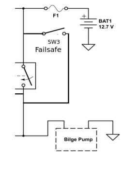 Bilge Pump Wiring Schematic