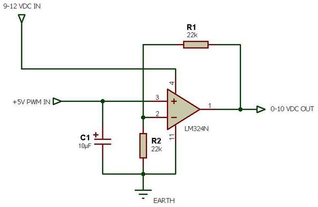 10v Dimming Wiring Diagram Digital Potentiometer With Op Amp