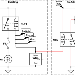 Door Bell Wiring Diagram John Deere Gator Power Wheels - Trigger Relay Only From One Specific Grounding Path? Electrical Engineering Stack ...