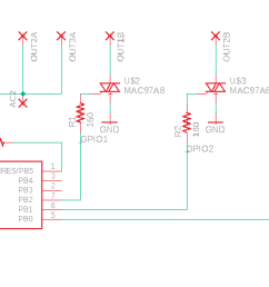 my triac turns on when gate attached to vcc good but also when connected to ground bad  [ 1702 x 896 Pixel ]