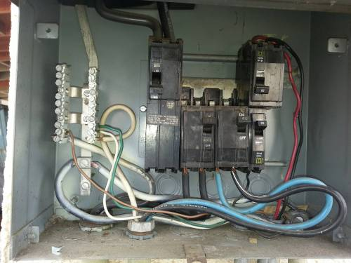 small resolution of electrical service box with no neutral bar home improvement house breaker box wiring diagram service box wiring