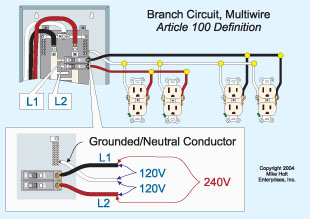Wiring 110v Outlet From 220v Supply
