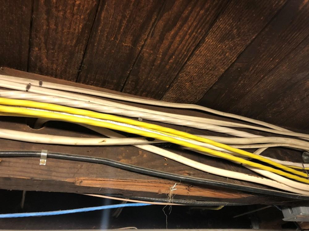 medium resolution of enter image description here enter image description here electrical wiring basement joists
