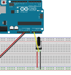problem reading in arduino serial port with 5k potentiometer single potentiometer circuit [ 1755 x 1257 Pixel ]