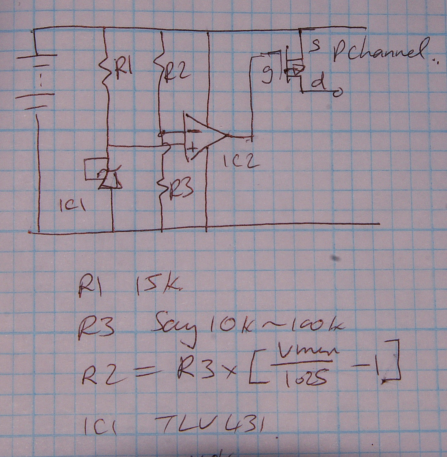 High Side Sense Circuit Like This One Followed By A Voltage To Current