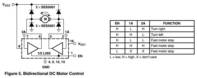 robot platform howto motor driver l293d 1