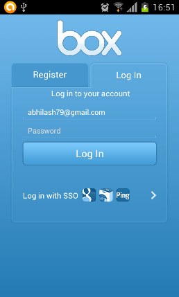 Design Login and Register page using android tabs  Stack