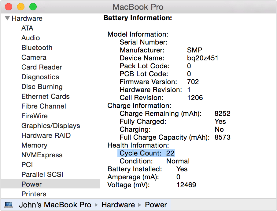 0 amperage macbook battery one way light switch diagram 2011 13 pro shows a green charging but was s enter image description here
