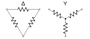 Why is the voltage between 2 phases in the wye connection