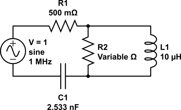 Find Voltage of inductor in LC series circuit with