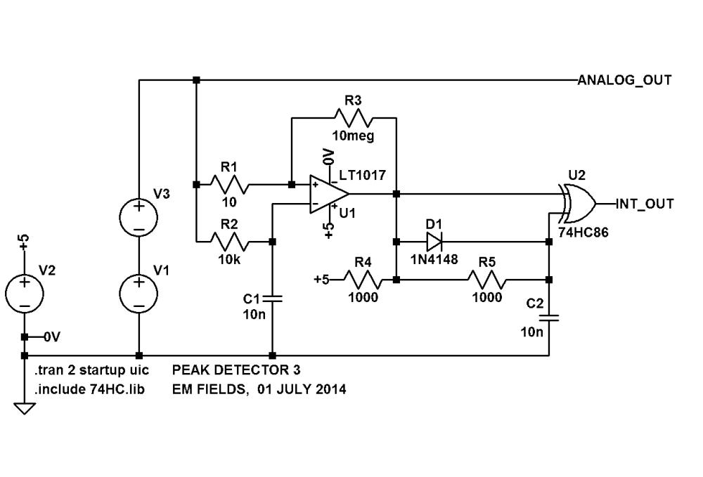 medium resolution of peak detector simple circuit diagram wiring diagram today peak detector simple circuit diagram