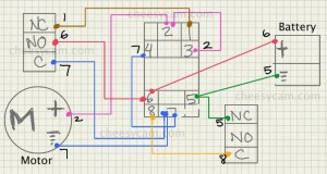 dc  Motor Speed Controller Causing Relay to Lose Voltage and Stop Working  Electrical
