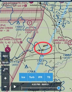 What is  cabnd   on the   vfr sectional chart also aviation stack rh aviationackexchange