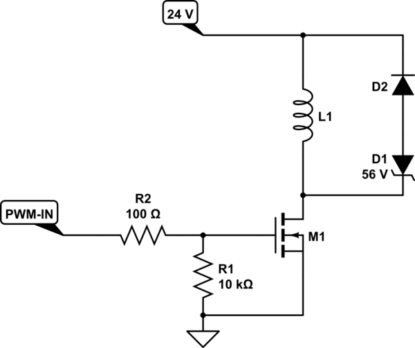 datasheet ignition coil driver circuit