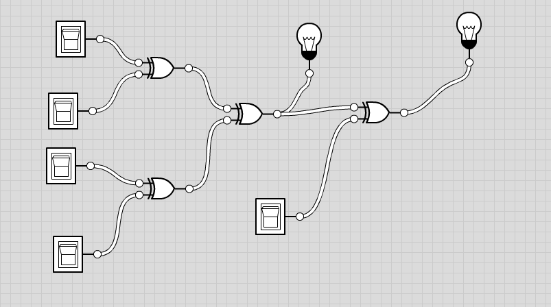 4 bit even odd parity checker/generator using logic gates