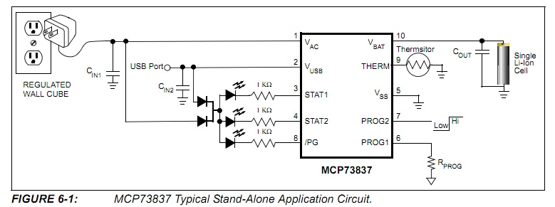 18650 charger circuit