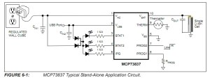 batteries  Circuit for recharging Liion Polymer Battery