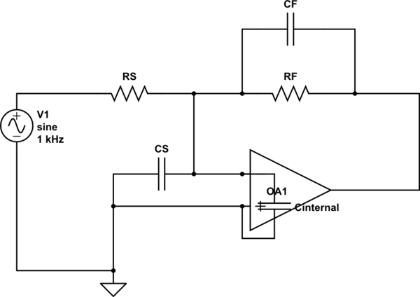 This op-amp buffer is oscillating and I can't figure out why