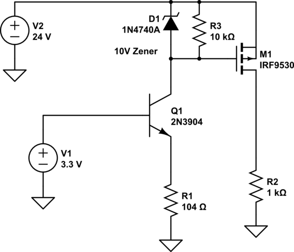 P Channel Mosfet Switch Circuit - Auto Electrical Wiring Diagram