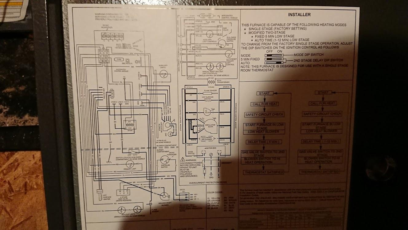 Goodman Thermostat Wiring Diagram