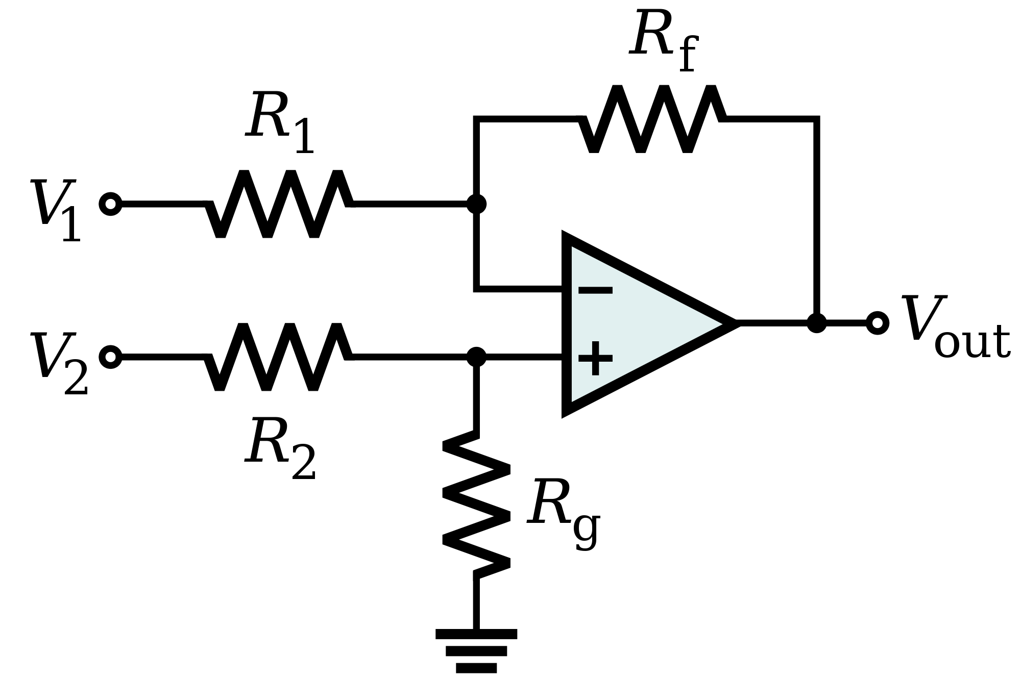 circuit diagram of non inverting amplifier 1997 ford f350 headlight switch wiring op amp differential input to single ended output with