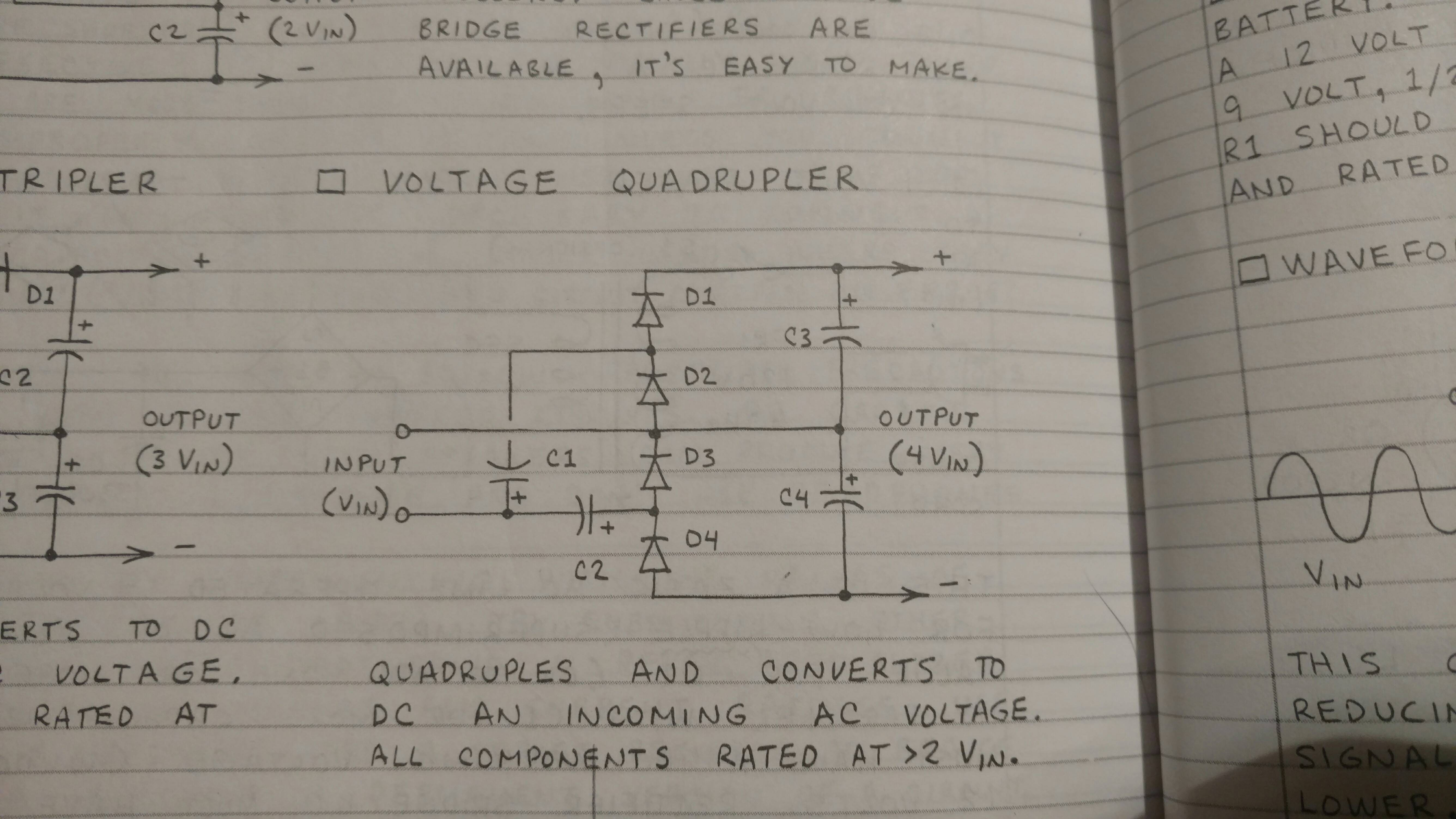 Voltage Multipliers Electronic Circuits And Diagramelectronics