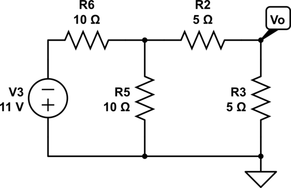how to solve a series circuit in electronics