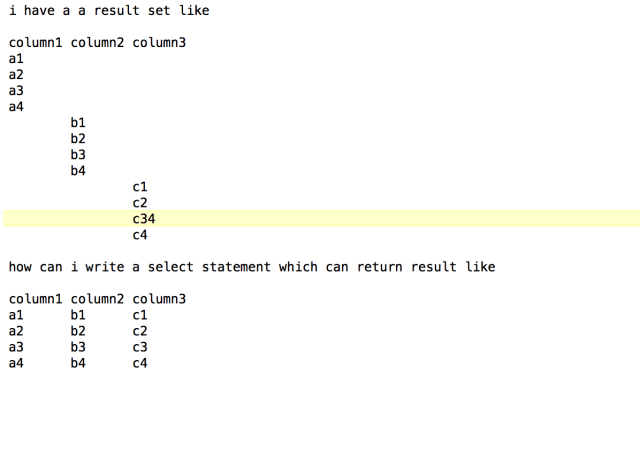 How to remove null value form multiple column in sql select